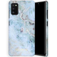 Selencia Maya Fashion Backcover Samsung Galaxy A41 - Marble Blue