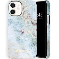 Selencia Maya Fashion Backcover iPhone 12 Mini - Marble Blue