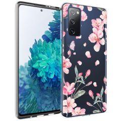 iMoshion Design hoesje Samsung Galaxy S20 FE - Bloem - Roze
