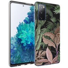 iMoshion Design hoesje Samsung Galaxy S20 FE - Jungle - Groen / Roze