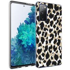 iMoshion Design hoesje Galaxy S20 FE - Luipaard - Goud / Zwart