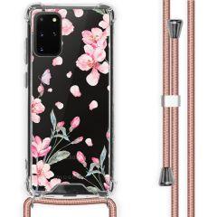 iMoshion Design hoesje met koord Samsung Galaxy S20 Plus - Bloem
