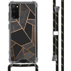 iMoshion Design hoesje met koord Samsung Galaxy S20 - Grafisch Koper