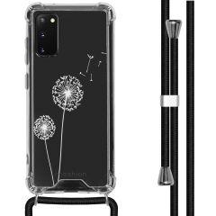 iMoshion Design hoesje met koord Samsung Galaxy S20 - Paardenbloem