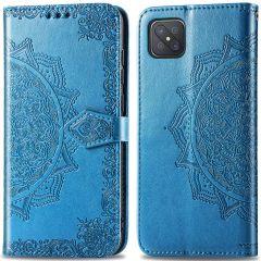 iMoshion Mandala Booktype Oppo Reno4 Z 5G - Turquoise
