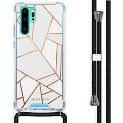 iMoshion Design hoesje met koord Huawei P30 Pro - Grafisch Koper