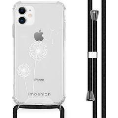 iMoshion Design hoesje met koord iPhone 11 - Paardenbloem - Wit