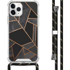 iMoshion Design hoesje met koord iPhone 11 Pro - Grafisch Koper