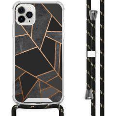 iMoshion Design hoesje met koord iPhone 11 Pro Max - Grafisch Koper