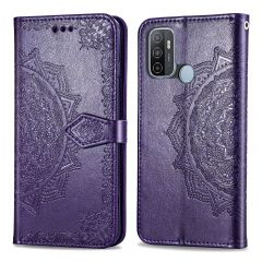 iMoshion Mandala Booktype Oppo A53 / Oppo A53s  - Paars