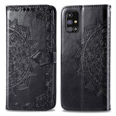 iMoshion Mandala Booktype Samsung Galaxy M31s - Zwart