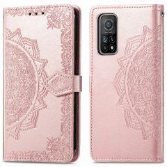 iMoshion Mandala Booktype Xiaomi Mi 10T (Pro) - Rosé Goud