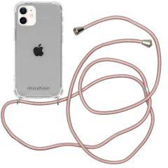 iMoshion Backcover met koord iPhone 12 Mini - Rosé Goud