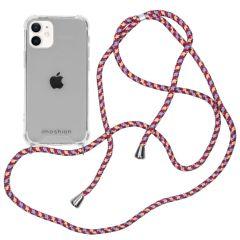 iMoshion Backcover met koord iPhone 12 Mini - Paars