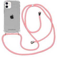 iMoshion Backcover met koord iPhone 12 Mini - Roze