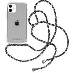 iMoshion Backcover met koord iPhone 12 Mini - Groen