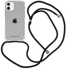 iMoshion Backcover met koord iPhone 12 Mini - Zwart