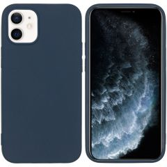 iMoshion Color Backcover iPhone 12 Mini - Donkerblauw