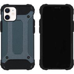 iMoshion Rugged Xtreme Backcover iPhone 12 Mini - Donkerblauw