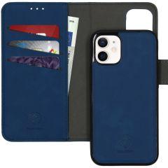 iMoshion Uitneembare 2-in-1 Luxe Booktype iPhone 12 Mini - Blauw