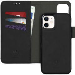 iMoshion Uitneembare 2-in-1 Luxe Booktype iPhone 12 Mini - Zwart