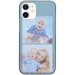 Ontwerp je eigen iPhone 12 Mini hardcase hoesje - Zwart