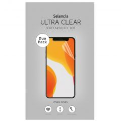 Selencia Duo Pack Ultra Clear Screenprotector iPhone 12 Mini