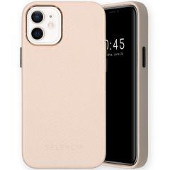 Selencia Gaia Slang Backcover iPhone 12 Mini - Wit