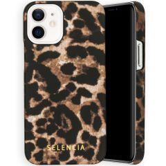 Selencia Maya Fashion Backcover iPhone 12 Mini - Brown Panther