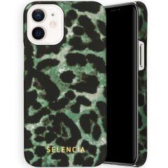 Selencia Maya Fashion Backcover iPhone 12 Mini - Green Panther