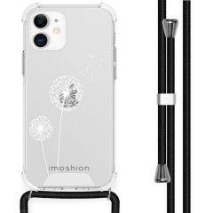 iMoshion Design hoesje met koord iPhone 12 Mini - Paardenbloem