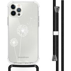iMoshion Design hoesje met koord iPhone 12 Pro Max - Paardenbloem