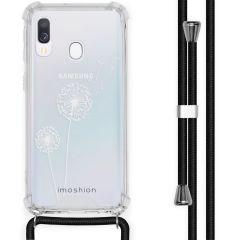 iMoshion Design hoesje met koord Samsung Galaxy A40 - Paardenbloem