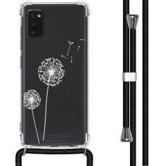 iMoshion Design hoesje met koord Samsung Galaxy A41 - Paardenbloem