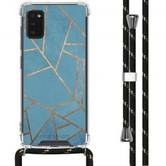 iMoshion Design hoesje met koord Samsung Galaxy A41 - Grafisch Koper