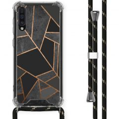 iMoshion Design hoesje met koord Samsung Galaxy A50 - Grafisch Koper