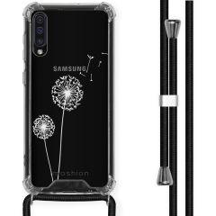 iMoshion Design hoesje met koord Samsung Galaxy A50 - Paardenbloem