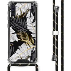 iMoshion Design hoesje met koord Samsung Galaxy A50 - Bladeren