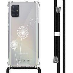 iMoshion Design hoesje met koord Samsung Galaxy A51 - Paardenbloem
