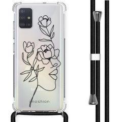 iMoshion Design hoesje met koord Samsung Galaxy A51