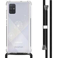 iMoshion Design hoesje met koord Samsung Galaxy A71 - Paardenbloem