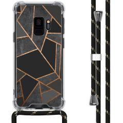 iMoshion Design hoesje met koord Samsung Galaxy S9 - Grafisch Koper