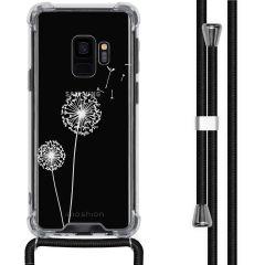 iMoshion Design hoesje met koord Samsung Galaxy S9 - Paardenbloem