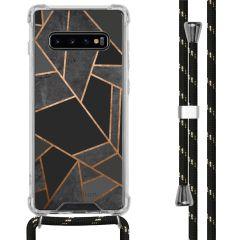 iMoshion Design hoesje met koord Samsung Galaxy S10 Plus