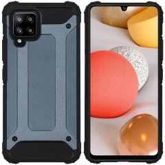 iMoshion Rugged Xtreme Backcover Samsung Galaxy A42 - Donkerblauw