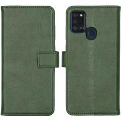 iMoshion Luxe Booktype Samsung Galaxy A21s - Groen
