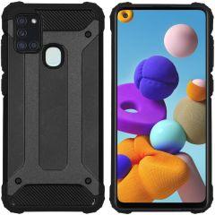 iMoshion Rugged Xtreme Backcover Samsung Galaxy A21s - Zwart