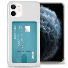 iMoshion Softcase Backcover met pashouder iPhone 12 Mini