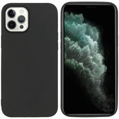 iMoshion Color Backcover iPhone 12 Pro Max - Zwart