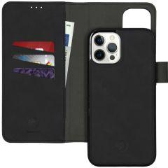 iMoshion Uitneembare 2-in-1 Luxe Booktype iPhone 12 Pro Max - Zwart